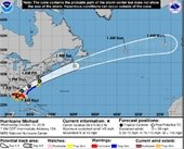 Forecast Track of Michael