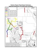 Roger Rd Sewer Extension Map