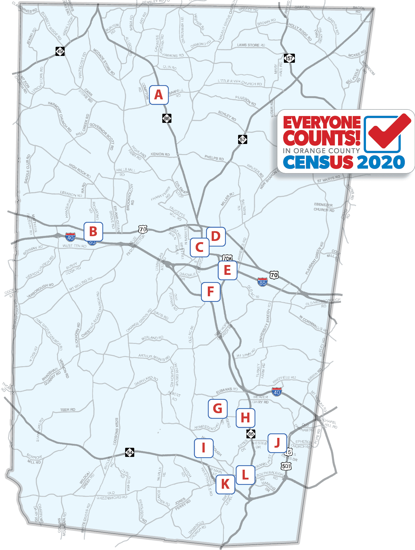 Be counted sites