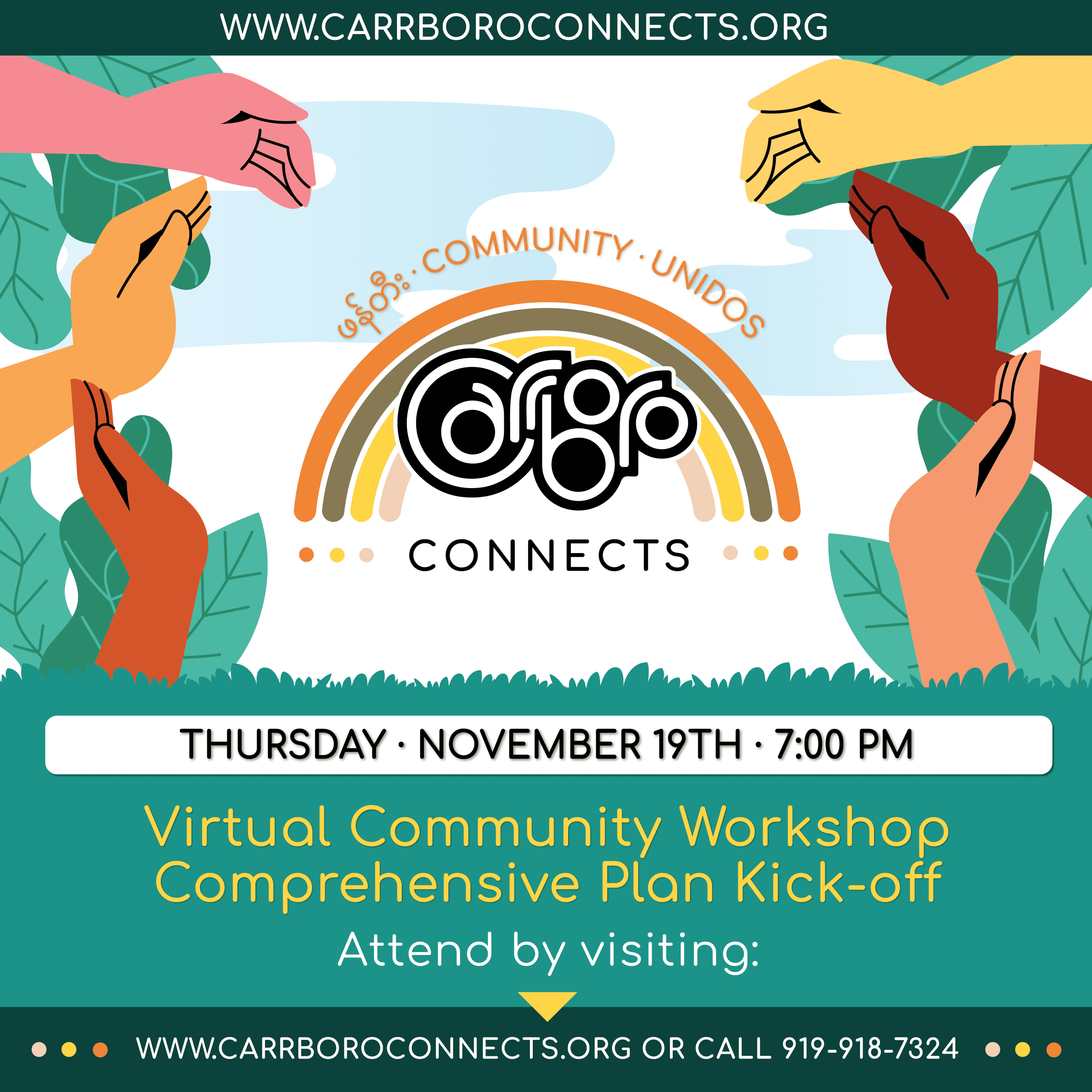 Comprehensive Plan - Carrboro Connects Kickoff