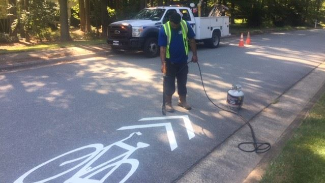 Bike Lane Marking